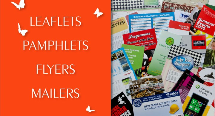 advertising pamphlets
