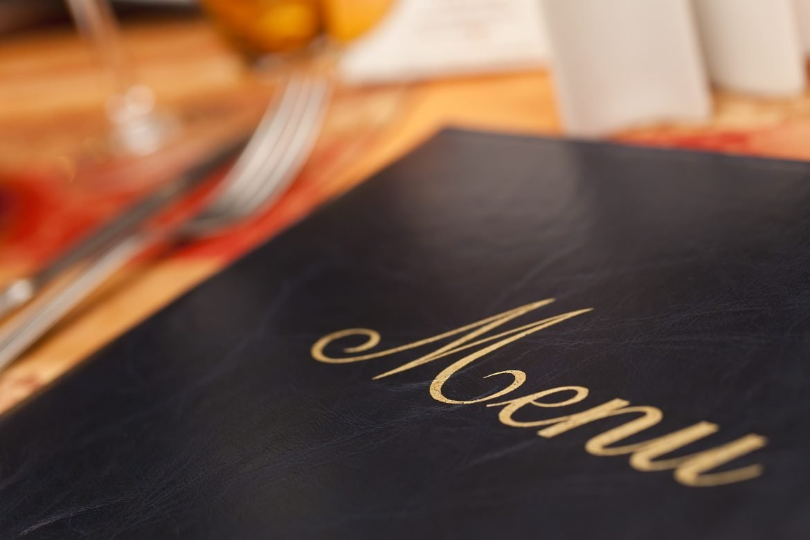 How To Make Your Reduced Menu Look Beautiful With Our Bespoke Menu Printing